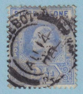 SIERRA LEONE 94 USED - PAQUEBOT CANCEL - NO FAULTS VERY FINE !