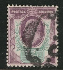 Great Britain Scott 129 KEVII 1902 1.5p stamp CV $22.50