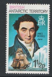 British Antarctic Territory 1978 Explorers 1 1/2p Scott # 47 MH