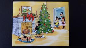 Disney - Caicos Islands 1983. - Christmas ** MNH Block