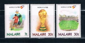 Malawi 402-04 MLH Set World Cup (M0096)