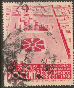 MEXICO C85, 20¢ PLANIFICATION CONGRESS, USED. F-VF. (1042)