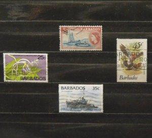 5433   Barbados   Used # 239, 405, 505, 876              CV$ 4.00
