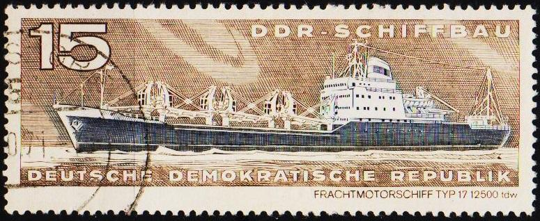 Germany(DDR). 1971 15pf S.G.E1414 Fine Used