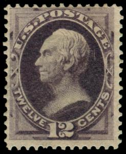 MOMEN: US STAMPS #162 MINT OG H