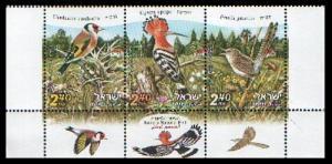 2010 Israel 2100-2102 Birds of Israel