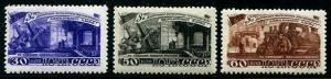 HERRICKSTAMP RUSSIA Sc.# 1272-74 Five Year Plan Stamps