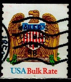 USA; 1993: Sc. # 2603: O/Used Orange  Single Stamp