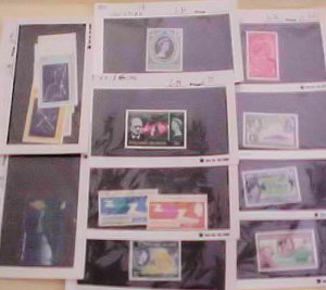 PITCAIRN ISLANDS STAMP 14 DIFF. #4/262 cat.$42.00  MINT LIGHT HINGED