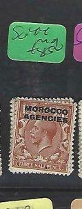MOROCCO AGENCIES  (P2308B)  KGV   1 1/2D  SG 44   MOG