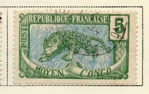 Middle Congo 1907-17 Early Issue Fine Used 5c. 324717
