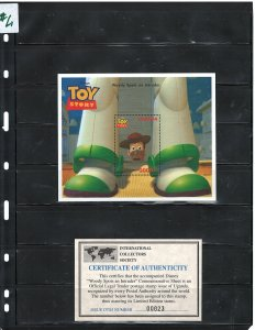 UGANDA 1997 DISNEY CARTOONS M..S #1482  MNH