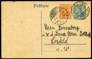 GERMANY INFLATION PERIOD POSTCARD OERUNGHASEN 3.6.21