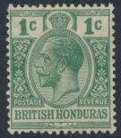 British Honduras SG 122 SC # 91 MH  Multiple Crown CA  see scans and details