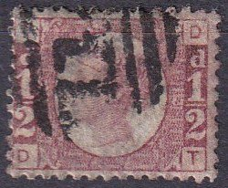 Great Britain #58 F-VF Used  CV $22.00 (Z4405)