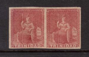Trinidad #6 (SG #12) VF Mint Pair