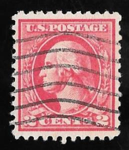 528B 2 cents Washington Carmine ty 6 Stamp used EGRADED SUPERB 98 XXF