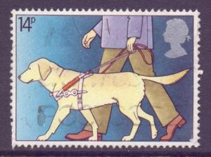 GB Scott 937 - SG1147, 1981 Disabled Year 14p used