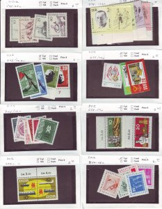 Z649 JLstamps germany DDR mh/mhr with sets on sales cards