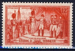 France 1954, 12 Fr 150 years of the French Legion of Honor VF MNH, Mi 1023 1,6€