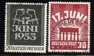 Berlin # 9N99-100, Used. CV $ 26.50