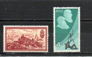 South Africa 366-367 MNH