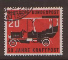 West Germany 1955 Postal Transport  SG 1137 fine used