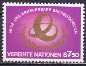 UN Vienna. 1981. 20. New energy sources. MNH.