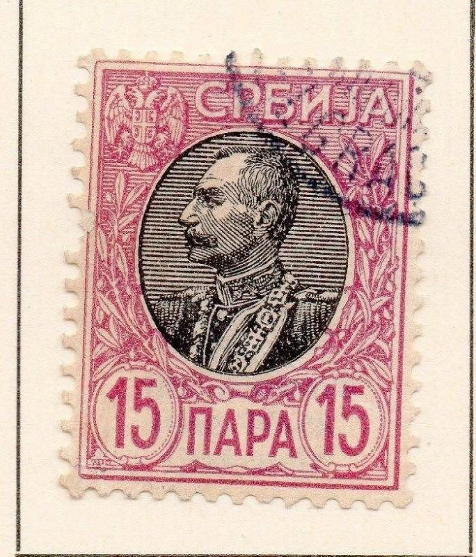 Serbia 1905 Early Issue Fine Used 15p. 147562