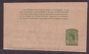 BERMUDA QE ½d newspaper wrapper unused.....................................35389