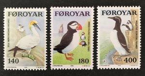 Faroe Islands 1978 #36-8, MNH, CV $2.40