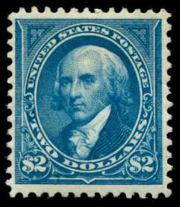 momen: US Stamps #277 Mint OG VF