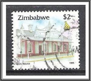 Zimbabwe #733 Cecil House Used