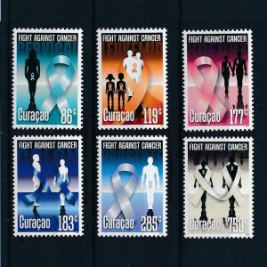 [CU225] Curacao 2014 Fight against cancer  MNH