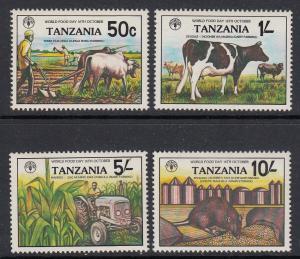 Tanzania 209-12 mnh