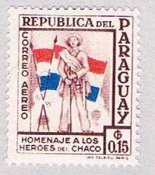 Paraguay C233 MLH Soldiers and Flags (BP19829)