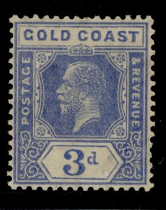GOLD COAST GV SG91, 3d bright blue, NH MINT.