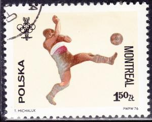 Poland 2168 USED - 1976 Olympic Soccer