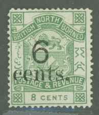North Borneo 52 Mint F-VF NG