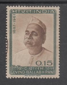India 1965  # 424   Govind Ballabh Pant   Used  04317  SD