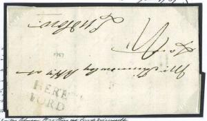 A199 Great Britain Cover 1787 Early HEREFORD Namestamp EL/Ludlow