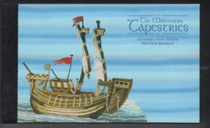 Guernsey 1998 Millennium Tapestries stamp booklet mint NH 624a, 624b