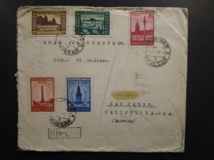 Yugoslavia 1947 Airmail Cover to USA - Z6433