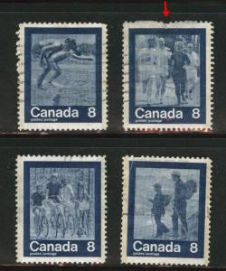 Canada Scott 629-632 Used 1973  set
