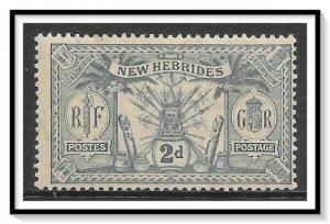 New Hebrides - British #19 Native Idols MLH