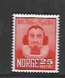 NORWAY, 290, MINT HINGED,PETTER DASS