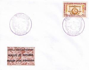 Wallis and Futuna Islands 29F Declaration of Human Rights 15th Anniversay 196...