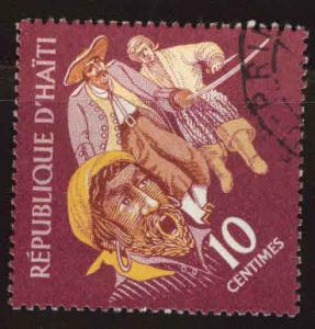 Haiti  Scott 476 Used Pirates of the Caribean stamp CTO