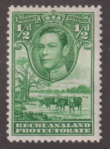 Bechuanaland Protectorate 124 Cattle & Baobab Tree 1938