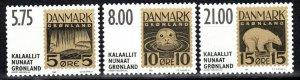 Greenland #387-9  MNH CV $13.75 (V5214)